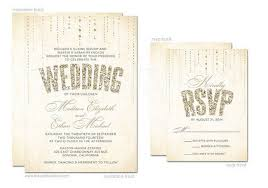 wedding invitations and rsvp 11 glitter wedding invitations