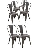 Tolix Bistro Chair Spectacular Deal On Poly And Bark Tolix Style Bistro A Dining Side