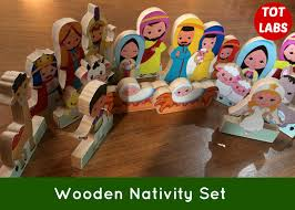themed wooden nativity set mumma diaries