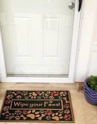 Wipe Your Paws Rubber Backed Amagabeli Outdoor Entryway Welcome Mats For Front Door Mat Wipe
