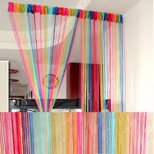 curtain sweet string line decorative curtain door window panel