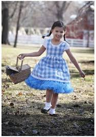 Halloween Costumes Dorothy Child Kansas Tutu Costume