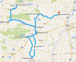 arkansa road map 11 unforgettable road trips for your arkansas list