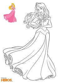 Download coloriage princesse disney clipart Princess Aurora Ariel