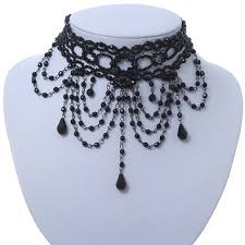 black statement choker necklace images Cheap acrylic bead choker necklace find acrylic bead choker jpeg
