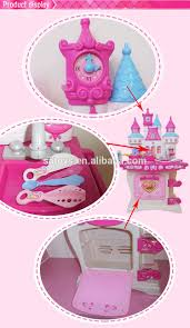 modern kitchen toy cartoon castle plastic modern kitchen toy set kids play kitchen