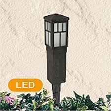 Malibu Landscape Lights Malibu Path Landscape Lights 1 Light Aged Iron Led Square