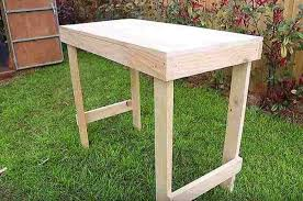 How To Make A Benchless Picnic Table by How To Build A Simple Workbench Diy Projects Craft Ideas U0026 How