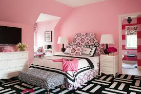 pink and white bedroom for teenage girls with pink and white pink and white bedroom for teenage girls with pink transitional teen girl s bedroom with black