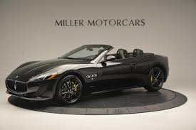 maserati gt 2016 2017 maserati granturismo convertible sport stock m1632 for sale
