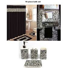 bathroom shower curtains sets red room interiors accrington zebra shower curtain the shoppers guide