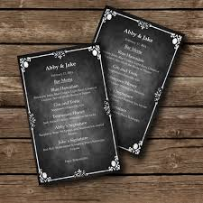 editable menu templates editable menu template chalkboard style word document