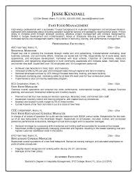 Examples Of Resumes For Restaurant Jobs by 9 Best Sample Resume Images On Pinterest Resume Templates