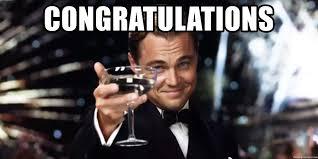 Meme Leonardo - congratulations leonardo dicaprio wine glass meme generator
