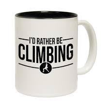 buy adrenaline addict i u0027d rather be climbing funny mug at 123t t