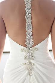 wedding dresses interesting backs