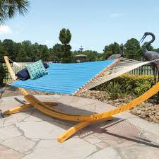 furniture best oak wood hatteras hammocks on stone flooring for