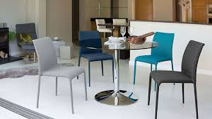 modern round glass table chrome pedestal 4 seater table