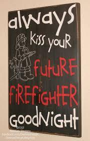 Firefighter Nursery Decor Firefighter Sign Firefighter Nursery Future Firefighter
