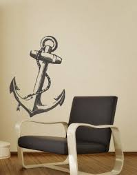wall decoration anchor wall decal lovely home decoration and