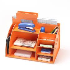rangement pour bureau bricolage moderne en bois boîte de rangement bureau organisateur
