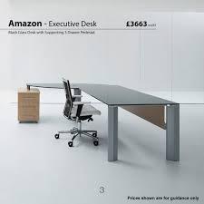 Modern Glass Executive Desk Glass Desks Modern Glass Desks Office Desks