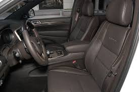 Jeep Grand Cherokee Overland Interior 2015 Jeep Grand Cherokee Our Review Cars Com