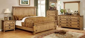 Country Style Headboards by Pioneer Country Style Burnished Pine Finish Queen Size Bed