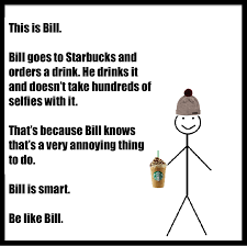 Be Like Bill Here S - belikebill stick figure meme with ironic jab messages go viral