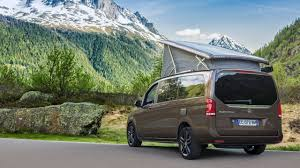 mercedes factory mercedes shows latest factory built vito campers