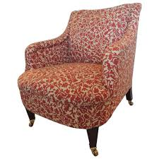 george smith armchair classic george smith upholstered armchair in india flower fabric