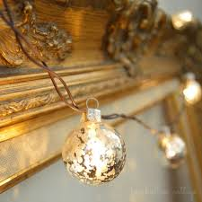 mercury glass string lights cottage home fall tour and a giveaway craft ideas budgeting and