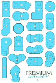 pool shapes and sizes swimming pool shapes and sizes riggins design