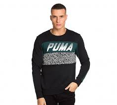 cost effective puma black green sweatshirts puma speed font