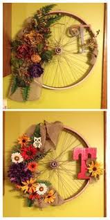 Kawaii Wagon Wheel Wall Decor Diy Ways To Recycle Bike Rims Ideas And Instructions Bicycle