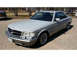 1987 mercedes benz 560sec for sale classiccars com cc 674300