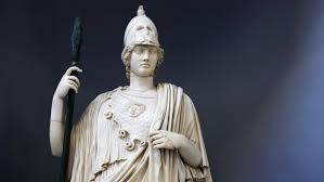 what did the greek goddess athena wear reference com