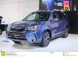 subaru forester car blue subaru forester car editorial stock photo image 42025973