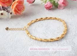 gold bracelet woman images 1pc golden bracelet fit charm bead women gold bracelet female jpg