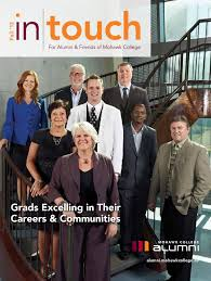 mohawk college alumni in touch magazine fall 2013 by mohawk