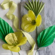 tissue paper flowers diy tutorials for handmade tissue paper flowers