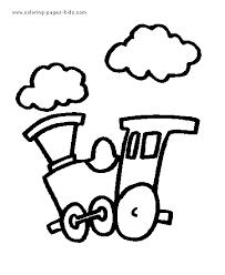 steam train color pages coloring pages kids transportation