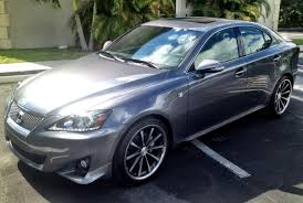 black lexus 2006 2012 is fsport nebula pearl vossen 19