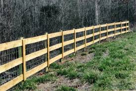 residential wire rail fencing fortress fencing