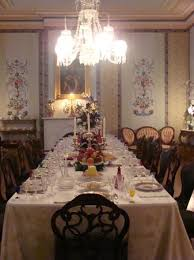 The Formal Dining Room Picture Of Belmont Mansion Nashville - Mansion dining room