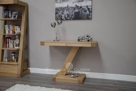 modern wood console table designer solid oak modern console table console tables and hall