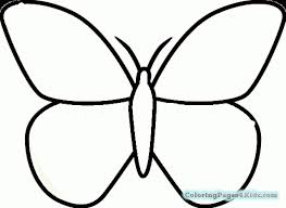 simple butterfly coloring pages coloring pages for