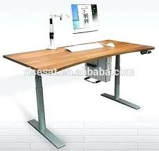 desk sit stand desk converter dual monitor sit stand desk