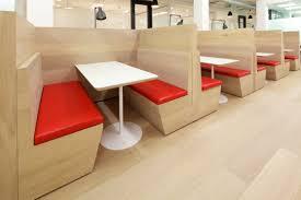 ultra modern oak floor for office canteen