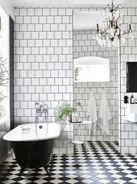 black and white bathroom ideas pictures des salles de bain black and white bathroom tiling